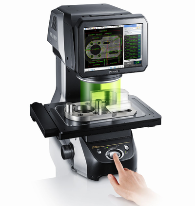 ACCURATE MEASUREMENT BY KEYENCE IM 7010/7500 OPTICAL MEASURING SYSTEM